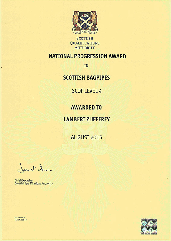 National Progression Award